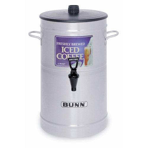 BUNN ICD3 3-Gallon Iced Tea Dispenser with Side Handles 33000.0002