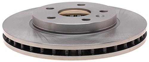 ACDelco 18A2802A Advantage Non-Coated Front Disc Brake Rotor ()