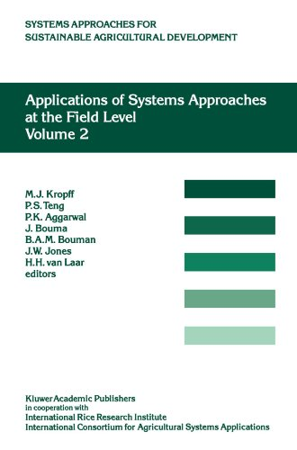 Applications of Systems Approaches at the Field Level: Volume 2: Proceedings of the Second International Symposium on Systems Approaches for for Sustainable Agricultural Development
