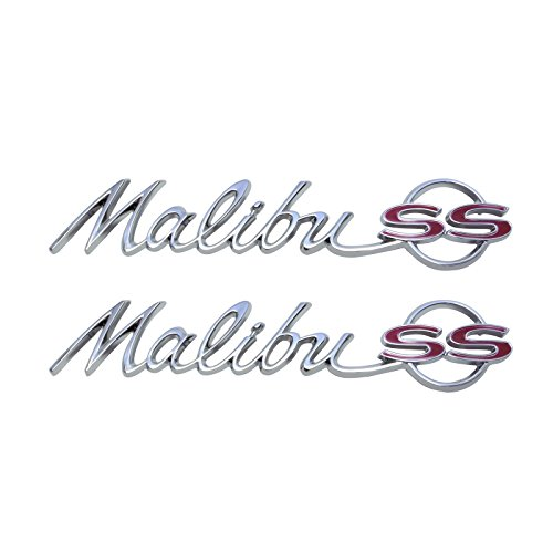 Panel Emblem Chevelle - Eckler's Premier Quality Products 50-203561 Chevelle Quarter Panel Emblem, Malibu Super Sport (SS) Coupe