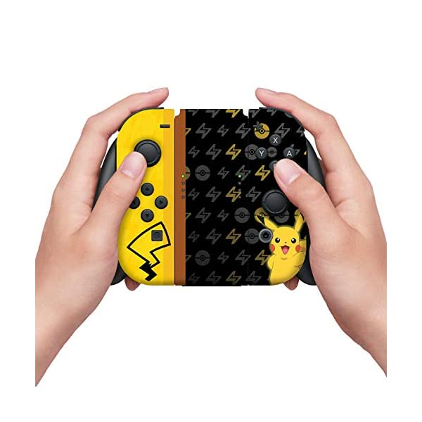 Controller Gear Nintendo Switch Skin & Screen Protector Set - Pokemon - Pikachu Set 1 - Nintendo Switch 5