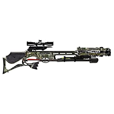Barnett Ghost 375 Compound Crossbow Package with 4x32 Illuminated Scope (Realtree Max 1 Camo, #78100)