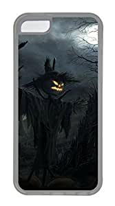iPhone 5C Cases & Covers - Scarecrow TPU Custom Soft Case Cover Protector for iPhone 5C - Transparent