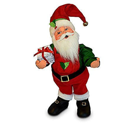 9f0ffdeac5445 Image Unavailable. Image not available for. Color  Annalee 20in Jinglebell  Santa