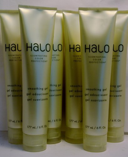 Halo Illuminating Color Protection Smoothing Gel 6oz by Graham Webb (Halo Smoothing Gel)