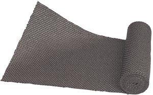 22.5''W x 115''D Specialty Series Black Vinyl Non-Slip Drawer Liner Roll