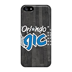 5/5s Scratch-proof Protection Case Cover For Iphone/ Hot Orlando Magic Phone Case