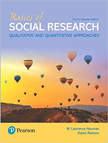 Basics of Social Research, Canadian Edition