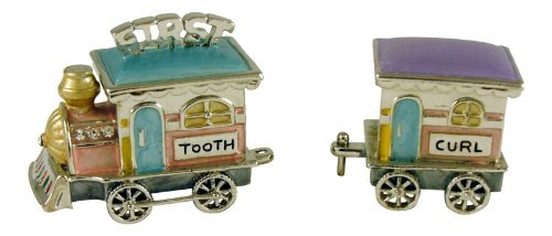 - Welforth First Tooth/First Curl Train Trinket Box Model No. J-882