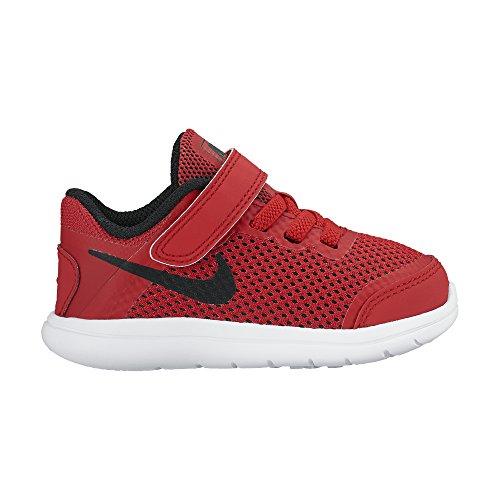 Nike Flex 2016 Rn (Tdv), Zapatos de Primeros Pasos Unisex Bebé Red
