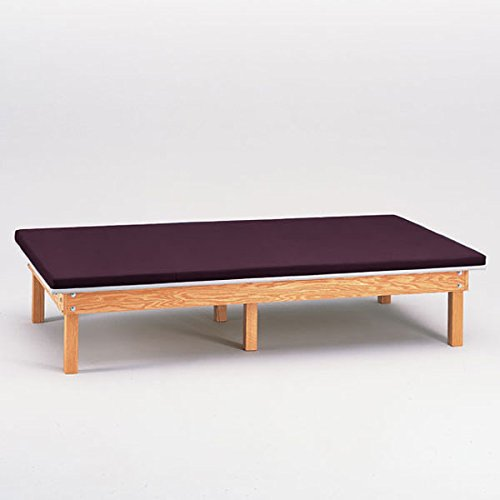 Heavy Duty Upholstered Mat Platform Treatment Table 6 x 8 - Platform Upholstered Mat