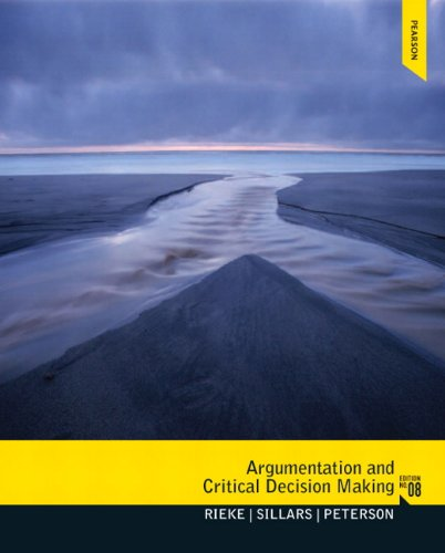 205210597 - Argumentation and Critical Decision Making (8th Edition)