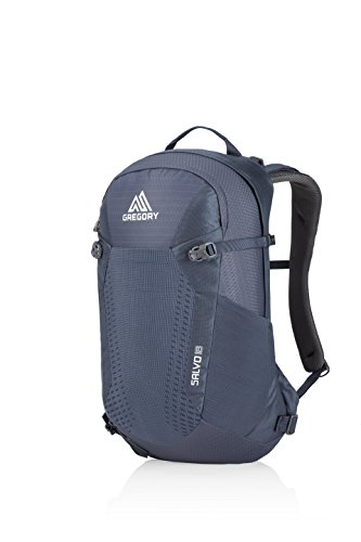 Gregory Mountain Products Men's Salvo 18 Liter Backpack, Smoke Blue, One Size ()