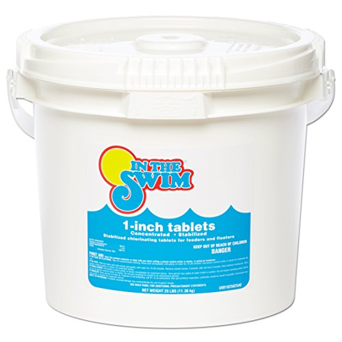 In The Swim 1 Inch Pool Chlorine Tablets 25 lbs.