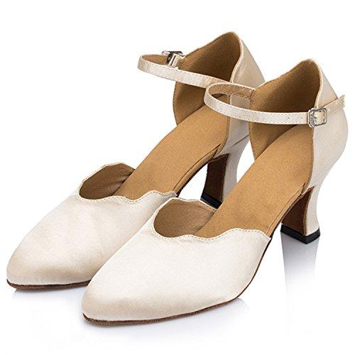 danse 7CM Tango Skin 43 femmes danse Cadeaux latine Dance Dance chaussures YFF qUwIx4Rn