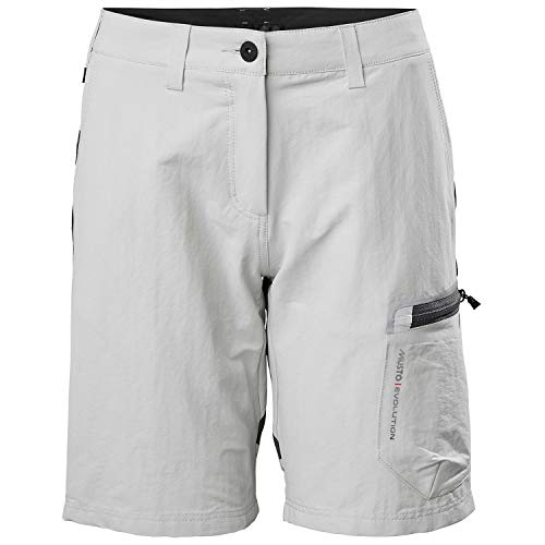 Musto Womens Evolution Performance 2.0 Sailing Boating Watersports Shorts – Platinum – Easy Stretch