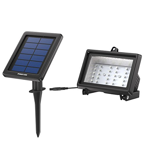 The Poweradd 30 LED Brighter Solar Light works perfect