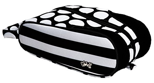 Womens Shoe Bag Glove It Ladies Shoe Bags for Travel & Storage Womens Shoes Carrying Bag Shoe Organizer Mesh Air Flow Case Gym, Sneaker, Traveling, Sports 2017 Mod Dot