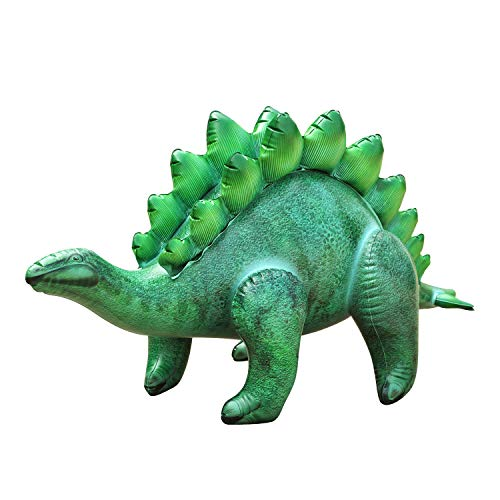 "Jet Creations Inflatable 46"" Long Stegosaurus (Green)"