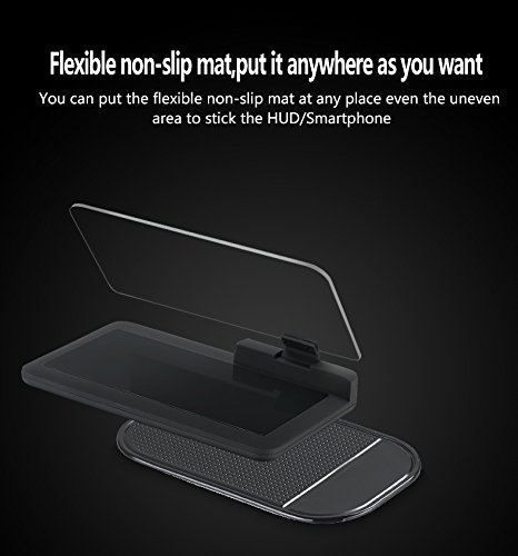 8000736401 Gohyo HUD Head Up Display GPS Holder Dashboard Cellphone Image Reflector Universal H6