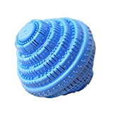 Super Wash Eco-friendly Laundry Ball-For 1500 Washings (Light Blue, 1)