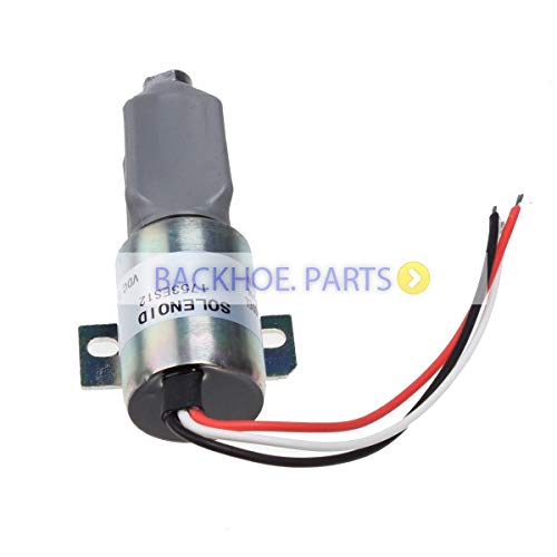 For Woodward Diesel Shut Down Stop Solenoid 1700-1518 1753ES-12E2ULB1S1 -  Parts Express, SUFR00676