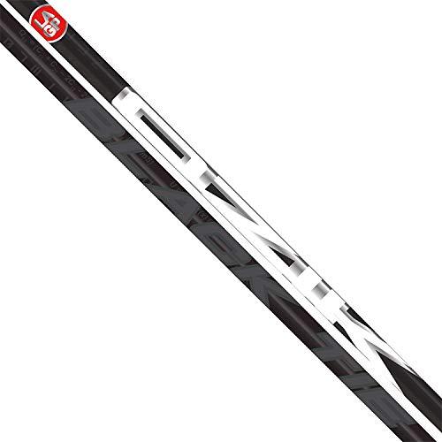 LA Golf ブラックタイ 60 硬いシャフト + Ping G / G30 / G400 ドライバーチップ + グリップ B07GQ17BVX