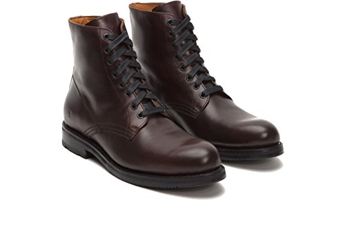 Frye 87973 Mens Brayden Pizzo Marrone Scuro