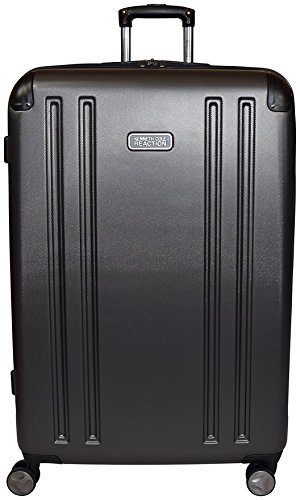 "Kenneth Cole Reaction 8 Wheelin Expandable Luggage Spinner Suitcase 29"" (Pewter)"
