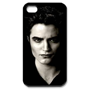 WJHSSB Customized Print Edward Cullen Pattern Back Case for iPhone 4/4S
