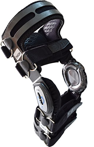 OsteoAlign Knee Brace (MEDIUM, GREY) by Z1