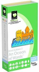 Cricut Classmate Cartridge, Word Builders 3 An Ocean of Words
