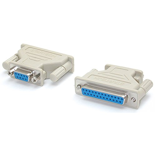 (StarTech.com DB9 to DB25 Serial Cable Adapter - F/F (AT925FF) )