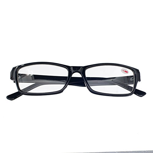 620 Eyeglasses (1 PRS Nearsighted Shortsighted Myopia Glasses w Case -2.50 Strength **These are not reading)
