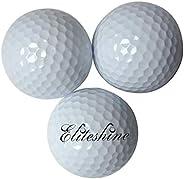 15-piece Pack EliteShine Floating Golf Balls Range Golf Balls Practice Golf Balls