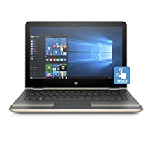 "HP Y9C15UA#ABL 13-u100ca 13.3"" Pavilion x360 Convertible Touchscreen Notebook (Pentium N3710, 8GB RAM, 500GB HDD) with Windows 10"