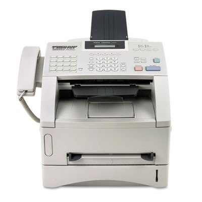 """Brother FAX4100E Laser Business Fax,8MB,33.6K Modem,17-2/5""""x17""""x12-7/10"""",GY"""