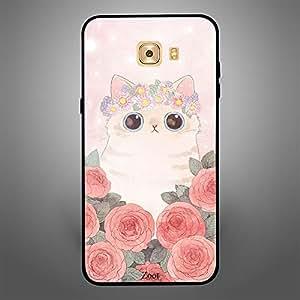 Samsung Galaxy C9 Pro Cat Roses