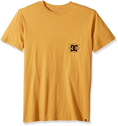 DC Herren Besterman Pocket T-Shirt, X-Large, Amber Gold