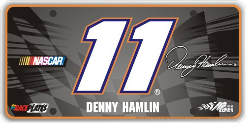 race-plates-signature-series-11-denny-hamlin-license-plate