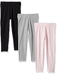 Amazon Essentials Girls Girls' 3-Pack Leggings