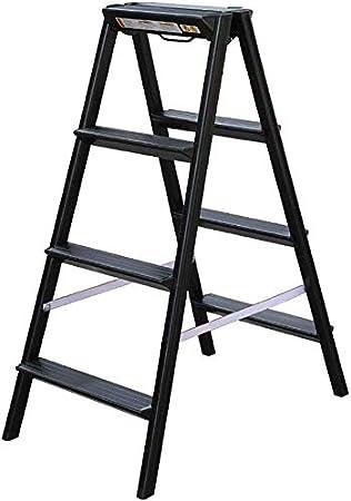 SED Escaleras de Mano Multiusos para el Hogar, Taburetes de Interior Escalera Grande Plegable de Aleación de Aluminio para Adultos Cocina, Escalera de Herramientas Plegables para el Hogar Escalera An: Amazon.es: Bricolaje