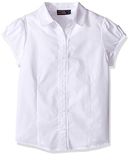 Nautica Girls Ruffle Placket Blouse product image