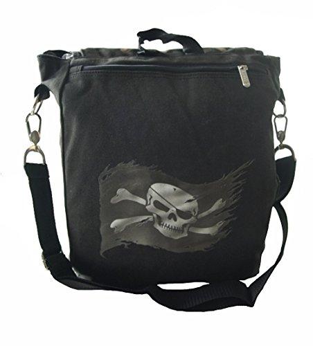 Anne Stokes - Pirate Skull, Schultertasche
