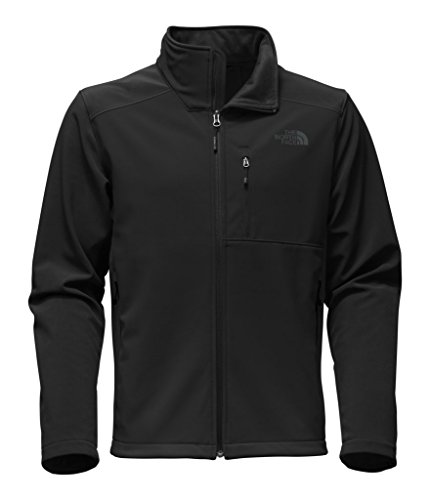 (The North Face Men's Apex Bionic 2 Jacket - TNF Black & TNF Black - L)