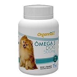 Suplemento Vitamínico Omega 3 Dog Organnact 500mg