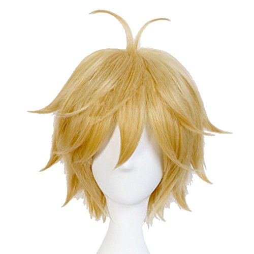 [Meliodas Wig Cosplay Costume Wig Hair Accessories Halloween] (Halloween 7 Deadly Sins Costumes)