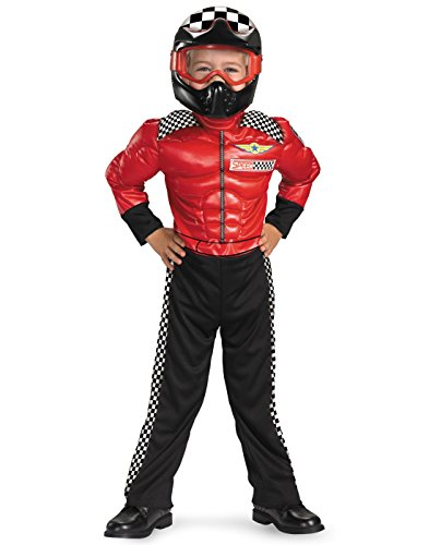(Turbo Racer Boys Costume, 4-6)