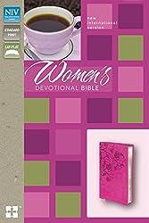 NIV, Women's Devotional Bible, Imitation Leather, Pink