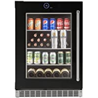 Danby SRVBC050L 24 Inch Wide 5.0 Cu. Ft. Capacity Left Handed Beverage Center wi, Black